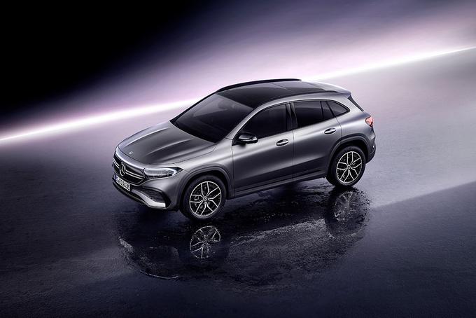 奔驰EQA首发 国产车型将搭双电机/续航超500公里-图3