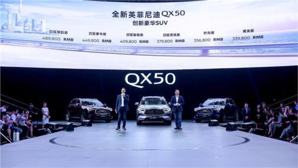创新豪华SUV 全新英菲尼迪QX50正式上市-图3