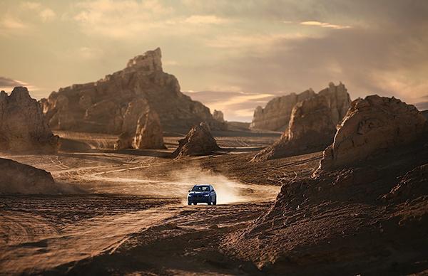纵戈壁,逐星河 2020 BMW X3体验季展担当本色-图3