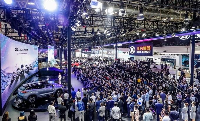 新品牌架构/产品升级 北汽集团北京车展主场SHOW-图9