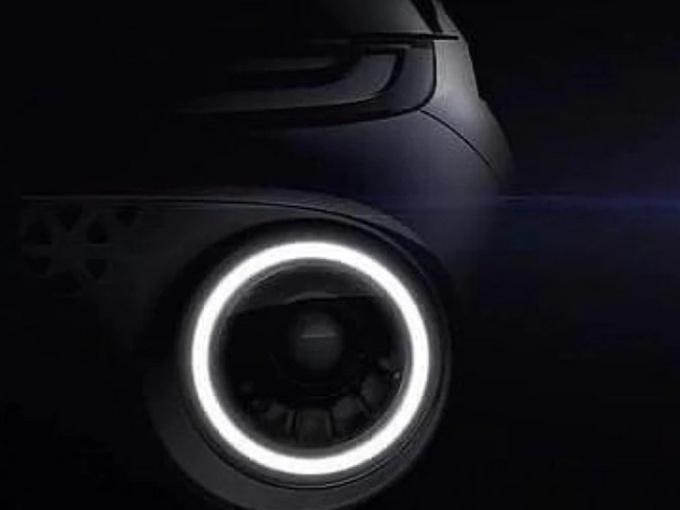 现代全新SUV预告图 圆形日行灯/最快下半年亮相-图1