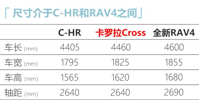 丰田卡罗拉推SUV版 比C-HR尺寸更大/有望入华-图1
