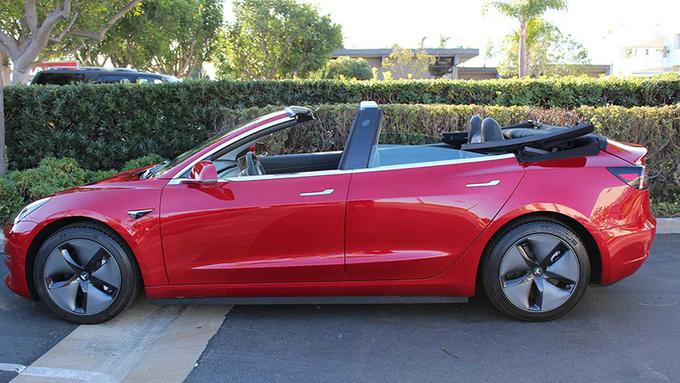 敞篷版Model 3怎么样改装费用高达4万欧元-图3