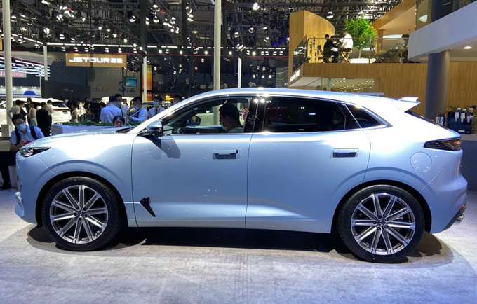 长安UNI-K高端SUV亮相 搭2.0T动力-尺寸超本田冠道-图2