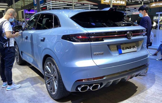 长安全新SUV首发亮相 外观前卫/尺寸超本田冠道-图3