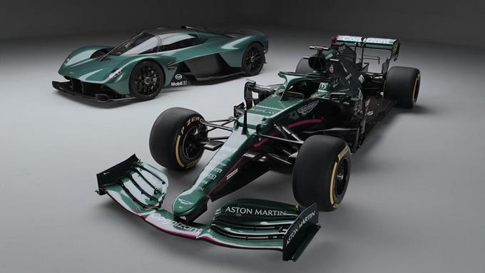 阿斯顿·马丁推出新款F1赛车深绿涂装/英伦气息-图5
