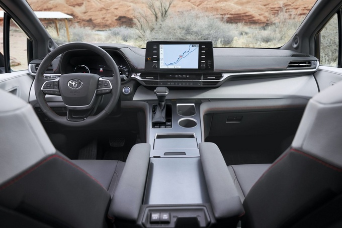 丰田全新塞纳下月开售搭2.5L混动/比埃尔法时尚-图6