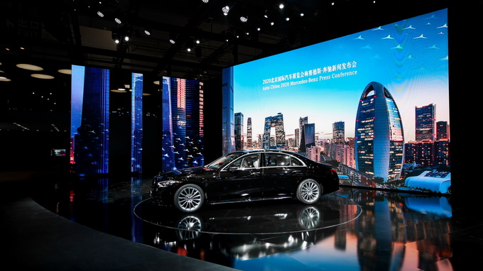 北京车展奔驰:全新S级/E级亮相 新V级上市AMG新车-图11