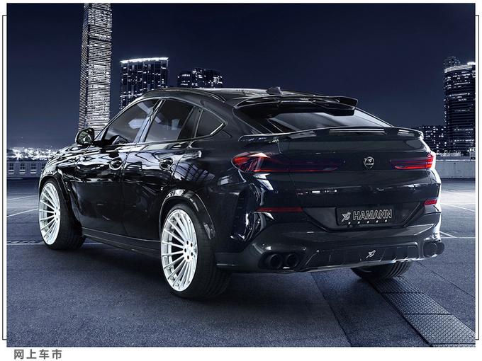 宝马X6新款车型发布搭3.0T引擎/增配运动套件-图2