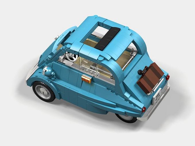 宝马Isetta 可能是乐高有史以来最可爱的套装-图5