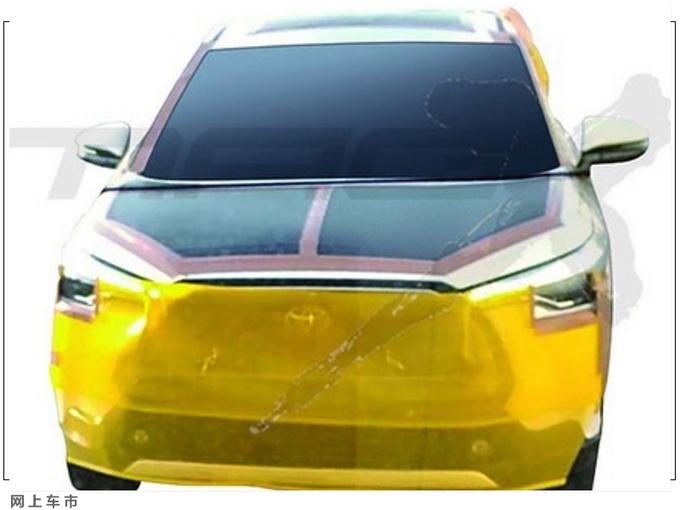 丰田Corolla Cross曝光 造型凶悍/搭1.8L混动系统-图2