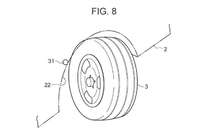 丰田全轮转向专利曝光横移停车原地旋转不是梦-图2