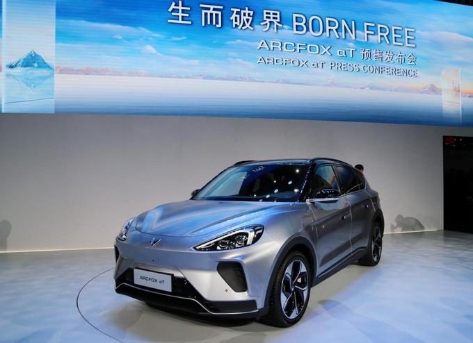 新品牌架构/产品升级 北汽集团北京车展主场SHOW-图4