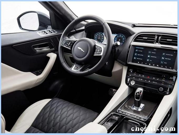 捷豹新款F-PACE实车曝光外观升级/竞争奔驰GLC-图5
