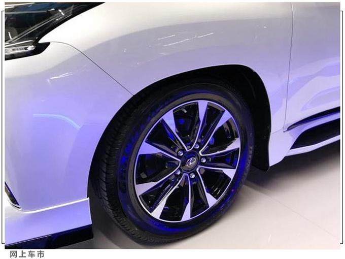 雷克萨斯新款LX进店实拍搭5.7L V8+四驱系统-图3