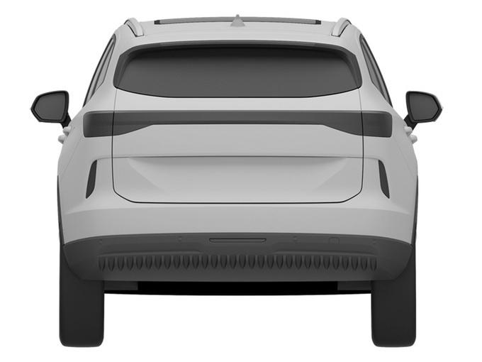 全新哈弗H6实车曝光 运动感更强/换第三代1.5T-图3