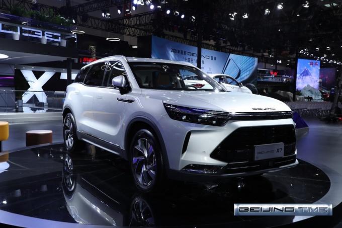 新品牌架构/产品升级 北汽集团北京车展主场SHOW-图2