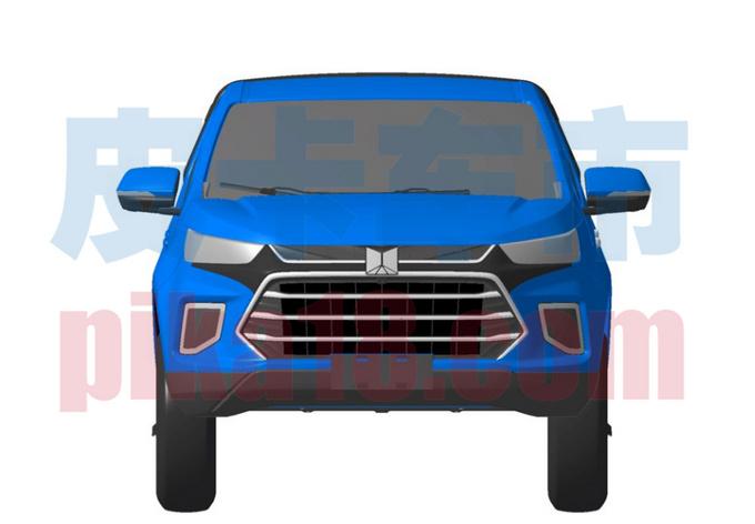 庆铃全新皮卡曝光 或搭3.0T动力 与这款车很相似-图1