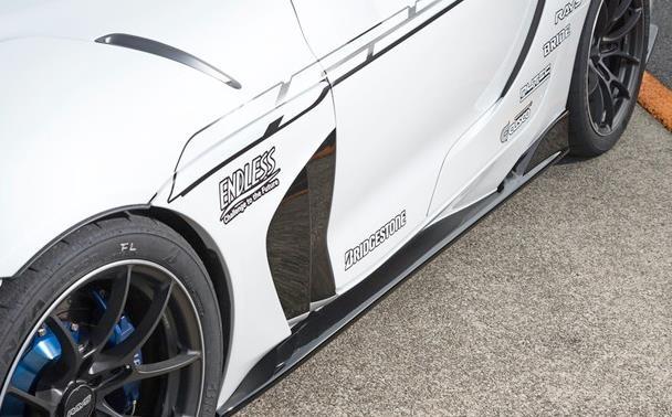 丰田Supra改装版实拍 外观夸张/最大可达520马力-图7