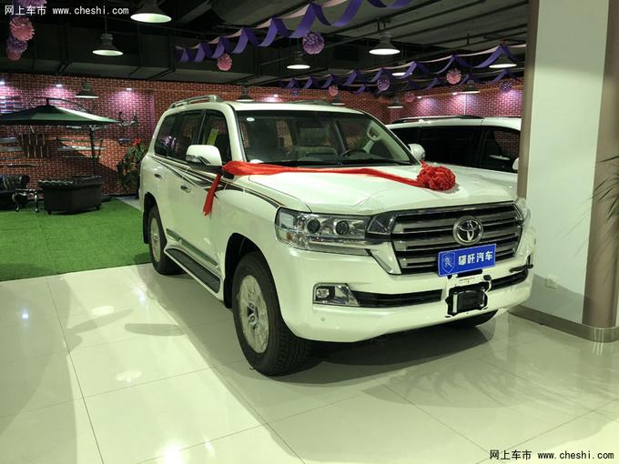 18款中东丰田酷路泽4600 V8大折扣91万售-图1