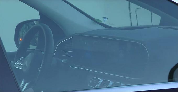 奔驰全新GLS多图实拍 内饰配大屏/搭2.0T混动系统-图3