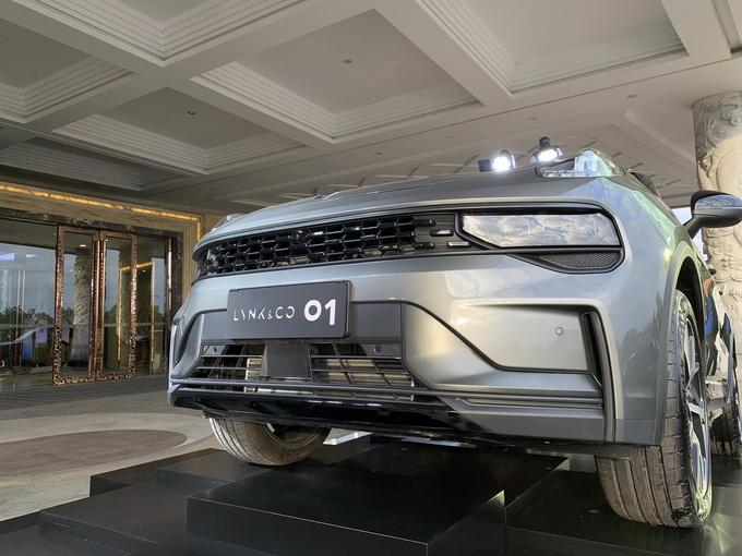领克汽车首款车型 全球高端SUV全新领克01换新上市-图5