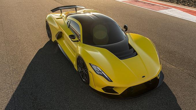 四款极速超400km/h的超级跑车 功率均超千匹-图8