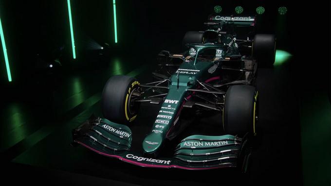 阿斯顿·马丁推出新款F1赛车深绿涂装/英伦气息-图2