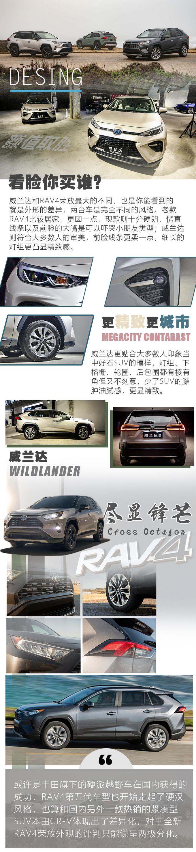 20万价位绕不开的SUV威兰达和RAV4荣放怎么选-图6