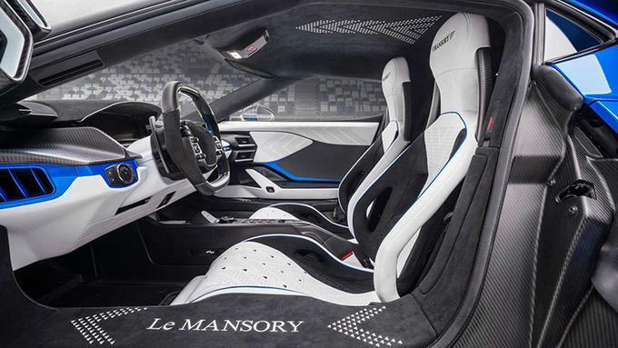 Mansory庆祝30周年 推出限量3台的改装版福特GT-图8