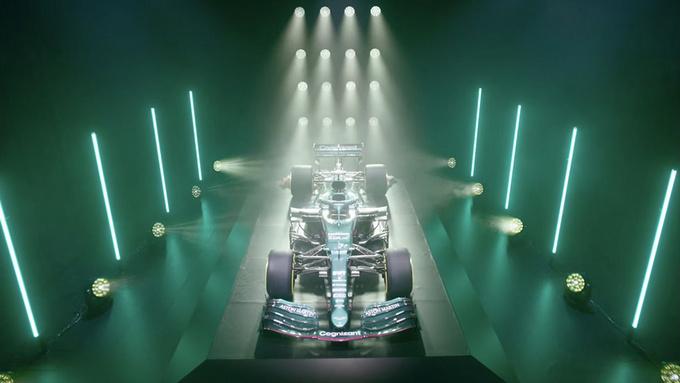 阿斯顿·马丁推出新款F1赛车深绿涂装/英伦气息-图1