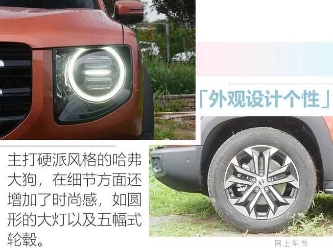 哈弗全新SUV大狗上市 售价XX.XX万元起 极具硬汉气息-图5