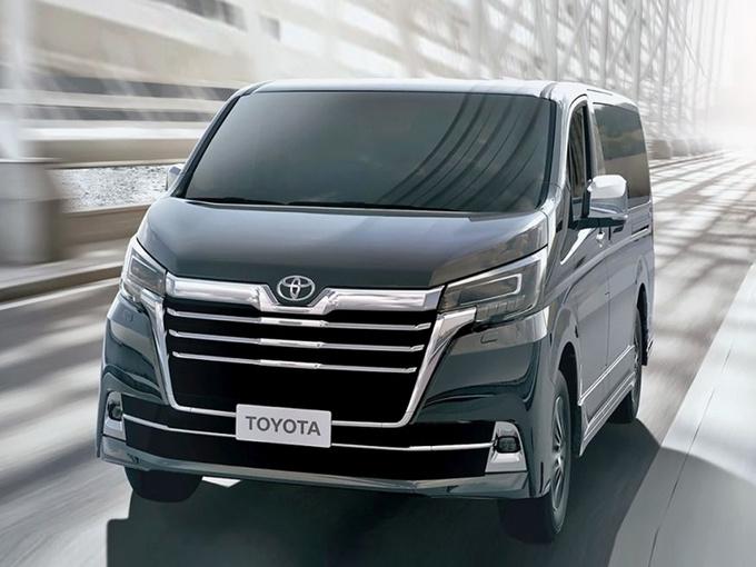 丰田豪华MPV有望入华 比埃尔法更大/能坐9个人-图1