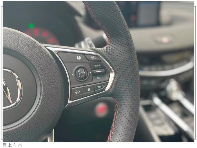 讴歌全新TLX实拍搭2.0T引擎/动力超奔驰C级-图5