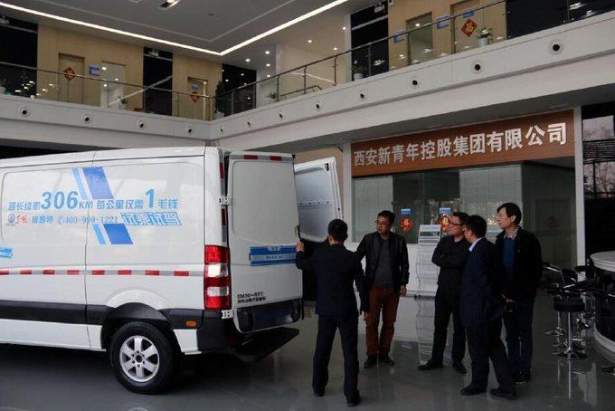 西安新青年控股集团重装参展西部物博会-图3