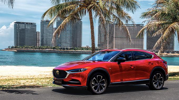 新款一汽马自达CX-4正式上市 售价14.88万元起-图1
