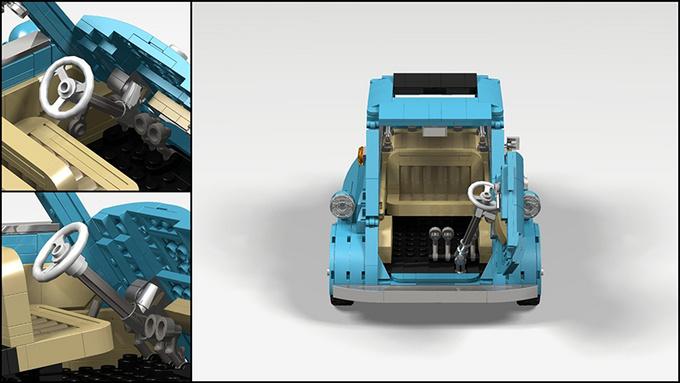 宝马Isetta 可能是乐高有史以来最可爱的套装-图1