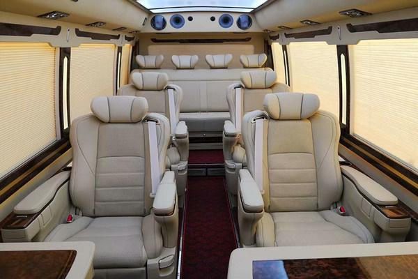 丰田考斯特高端航空座椅 一把手专车专用-图4