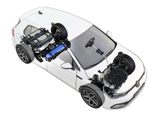 高尔夫TGI发布 可用天然气作为燃料/续航400km-图1