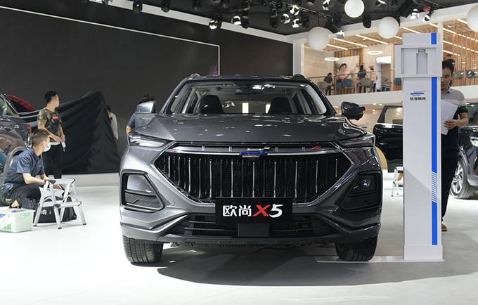 2020广州车展前瞻彻底年轻化 长安欧尚X5实拍-图2
