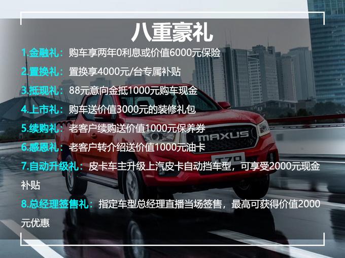 柴油2.0T+6AT宽体皮卡仅10.78万元 堪称性价比之王-图1