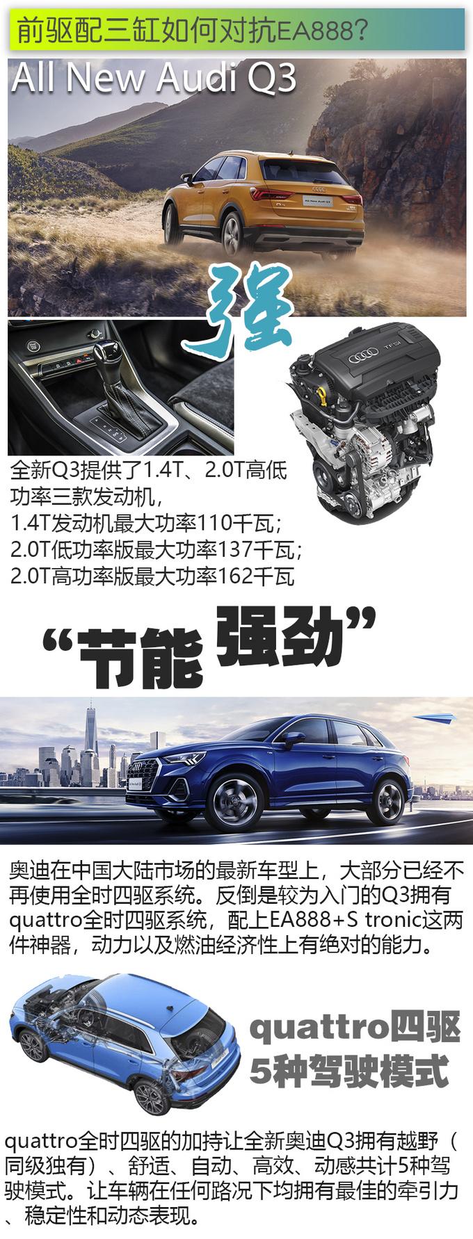 奥迪Q3/宝马X1/奔驰GLB 究竟是谁重新定义豪华SUV-图9