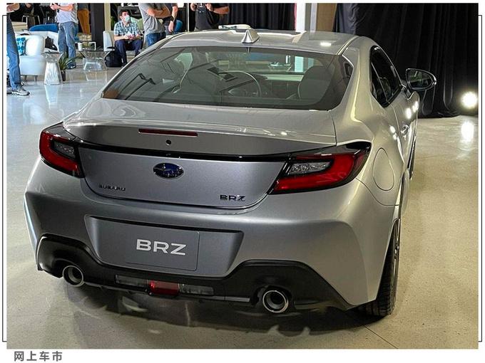 斯巴鲁全新BRZ实拍换搭2.4L/内饰升级液晶仪表-图5
