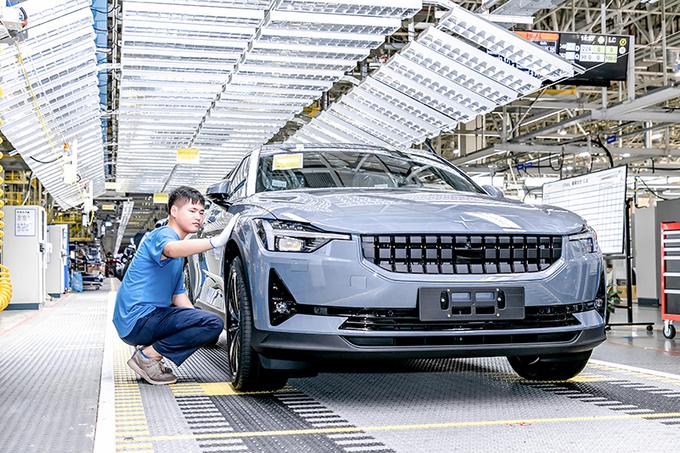 揭秘Polestar 2诞生地中国台州工厂 自动化/效率高-图5