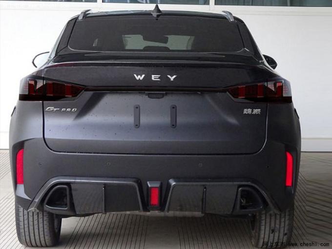 WEY 轿跑SUV加强版实拍 造型更运动年内上市-图2