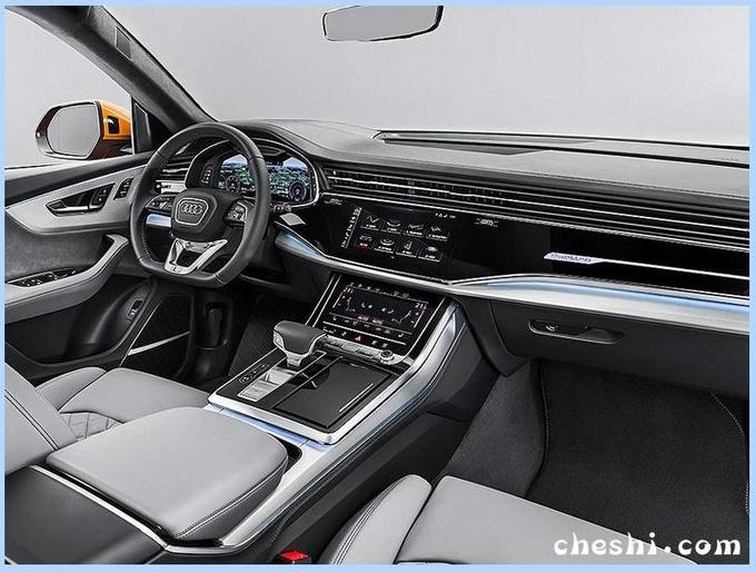 奥迪全新Q7实车曝光外观升级/配三显屏幕-图6