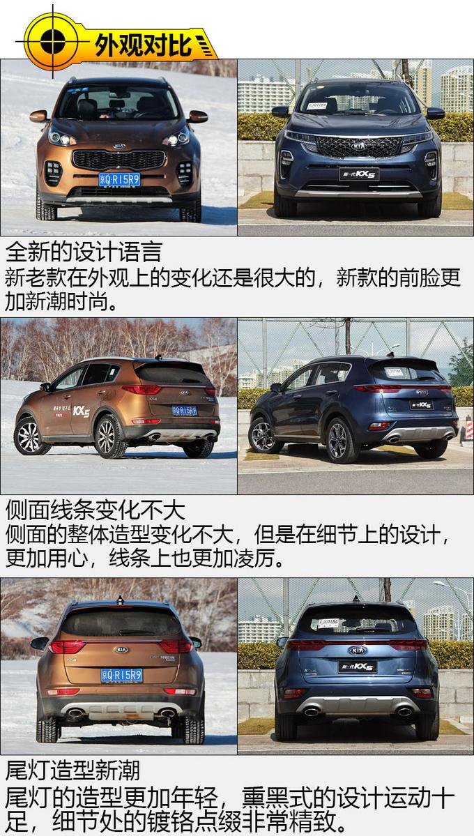 论高颜值汽车如何养成起亚新老KX5车型对比-图4