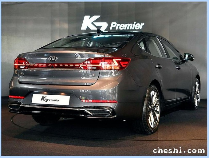 起亚新中型车曝光 配奥迪A8同款尾灯PK宝马3系-图2