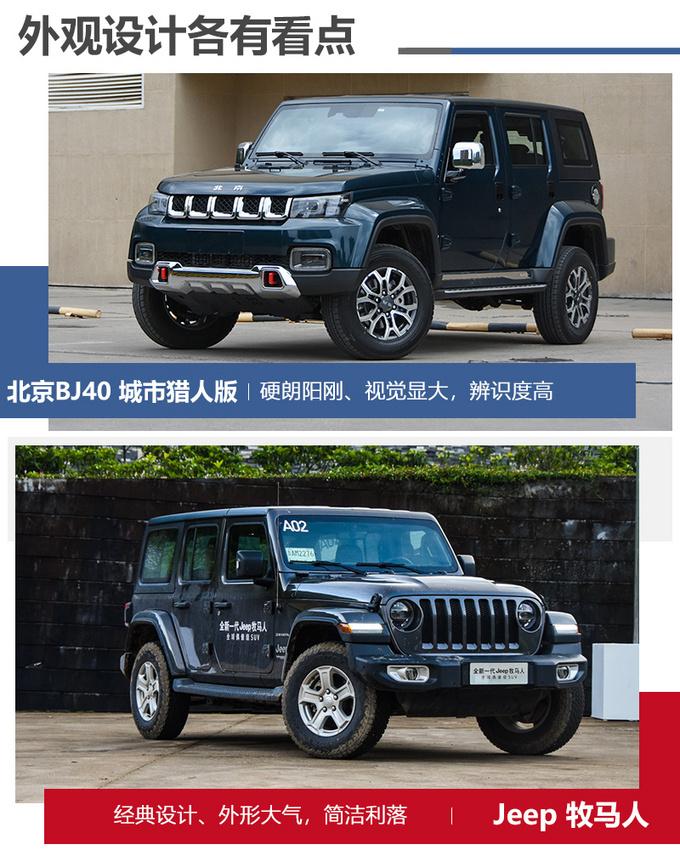 一半价格相近体验北京BJ40对比Jeep牧马人-图9
