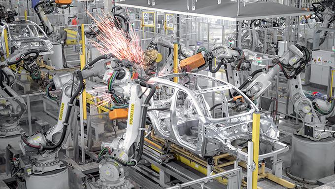 揭秘Polestar 2诞生地中国台州工厂 自动化/效率高-图9